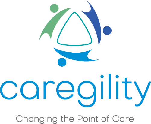 Caregility's Logo: Changing the Point of Care